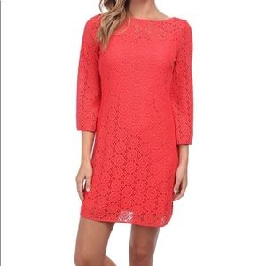 Lilly Pulitzer Topanga Coral Dress